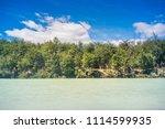baker river at  carretera... | Shutterstock . vector #1114599935
