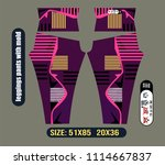 leggings pants fashion with... | Shutterstock .eps vector #1114667837