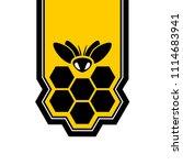 honeycomb nice symbol | Shutterstock .eps vector #1114683941