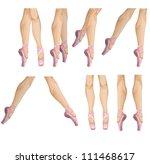 vector collection of ballet... | Shutterstock .eps vector #111468617