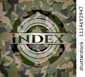 index camo emblem | Shutterstock .eps vector #1114692947