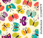 Butterfly Seamless Pattern. Ep...