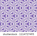 seamless pattern with symmetric ... | Shutterstock .eps vector #1114727495