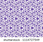 seamless pattern with symmetric ... | Shutterstock .eps vector #1114727549