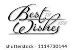 underscore handwritten text ... | Shutterstock .eps vector #1114730144