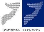 pixel somalia map. vector... | Shutterstock .eps vector #1114760447