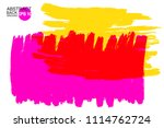 artistic backdrop  vector with... | Shutterstock .eps vector #1114762724