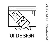 ui design icon. element of web...