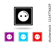 electric outlet icon. elements... | Shutterstock .eps vector #1114776629