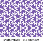 seamless pattern with symmetric ... | Shutterstock .eps vector #1114804325