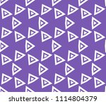 seamless pattern with symmetric ... | Shutterstock .eps vector #1114804379