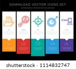 5 vector icons such as... | Shutterstock .eps vector #1114832747