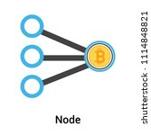 node icon vector isolated on... | Shutterstock .eps vector #1114848821