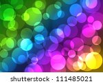abstract on a colorful... | Shutterstock . vector #111485021