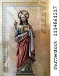 ribnicki kunic  croatia   july... | Shutterstock . vector #1114861217