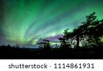 a beautiful green and red...   Shutterstock . vector #1114861931