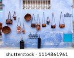 chefchaouen  blue city of...   Shutterstock . vector #1114861961