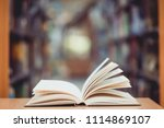 education learning concept with ... | Shutterstock . vector #1114869107