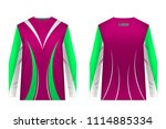 templates jersey for...   Shutterstock .eps vector #1114885334