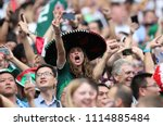 17.06.2018. moscow  russian ... | Shutterstock . vector #1114885484