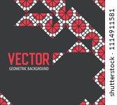 geometric tiles decoration...   Shutterstock .eps vector #1114911581