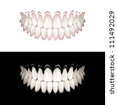 teeth | Shutterstock .eps vector #111492029