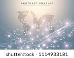 geometric abstract background... | Shutterstock .eps vector #1114933181