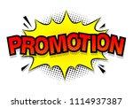 comic speech bubble with...   Shutterstock .eps vector #1114937387