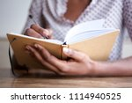 close up partial portrait of... | Shutterstock . vector #1114940525