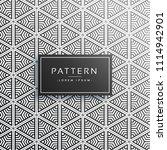 creative triangle pattern... | Shutterstock .eps vector #1114942901