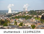 view over the city of huy in... | Shutterstock . vector #1114962254