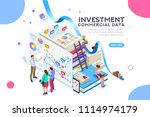 finance and commercial... | Shutterstock .eps vector #1114974179