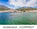 sea landscape with cadaques ...   Shutterstock . vector #1114995617
