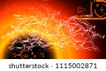 global cyberspace internet... | Shutterstock . vector #1115002871