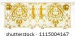 beautiful alloy gate  alloy... | Shutterstock . vector #1115004167