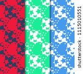 geometric seamless pattern... | Shutterstock .eps vector #1115010551