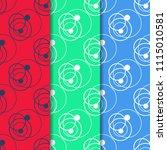 geometric seamless pattern.... | Shutterstock .eps vector #1115010581