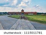auschwitz ii birkenau...   Shutterstock . vector #1115011781