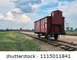 auschwitz ii birkenau...   Shutterstock . vector #1115011841