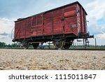 auschwitz ii birkenau...   Shutterstock . vector #1115011847