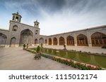nasir al mulk mosque in shiraz  ... | Shutterstock . vector #1115012174
