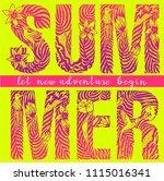 t shirt graphics  tee print... | Shutterstock .eps vector #1115016341