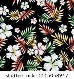 flowers  stock  with patti... | Shutterstock .eps vector #1115058917
