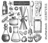 vector collection of jars and... | Shutterstock .eps vector #1115071511