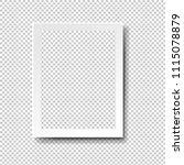 frame isolated transparent... | Shutterstock .eps vector #1115078879