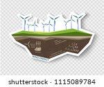 infographic illustrations of... | Shutterstock .eps vector #1115089784