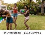 group of female friends...   Shutterstock . vector #1115089961