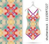 fashion art collection  vector...   Shutterstock .eps vector #1115097227