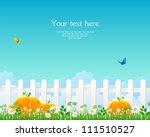 vector illustration of white... | Shutterstock .eps vector #111510527