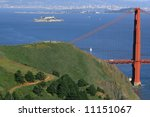 scenic view of the golden gate... | Shutterstock . vector #11151067